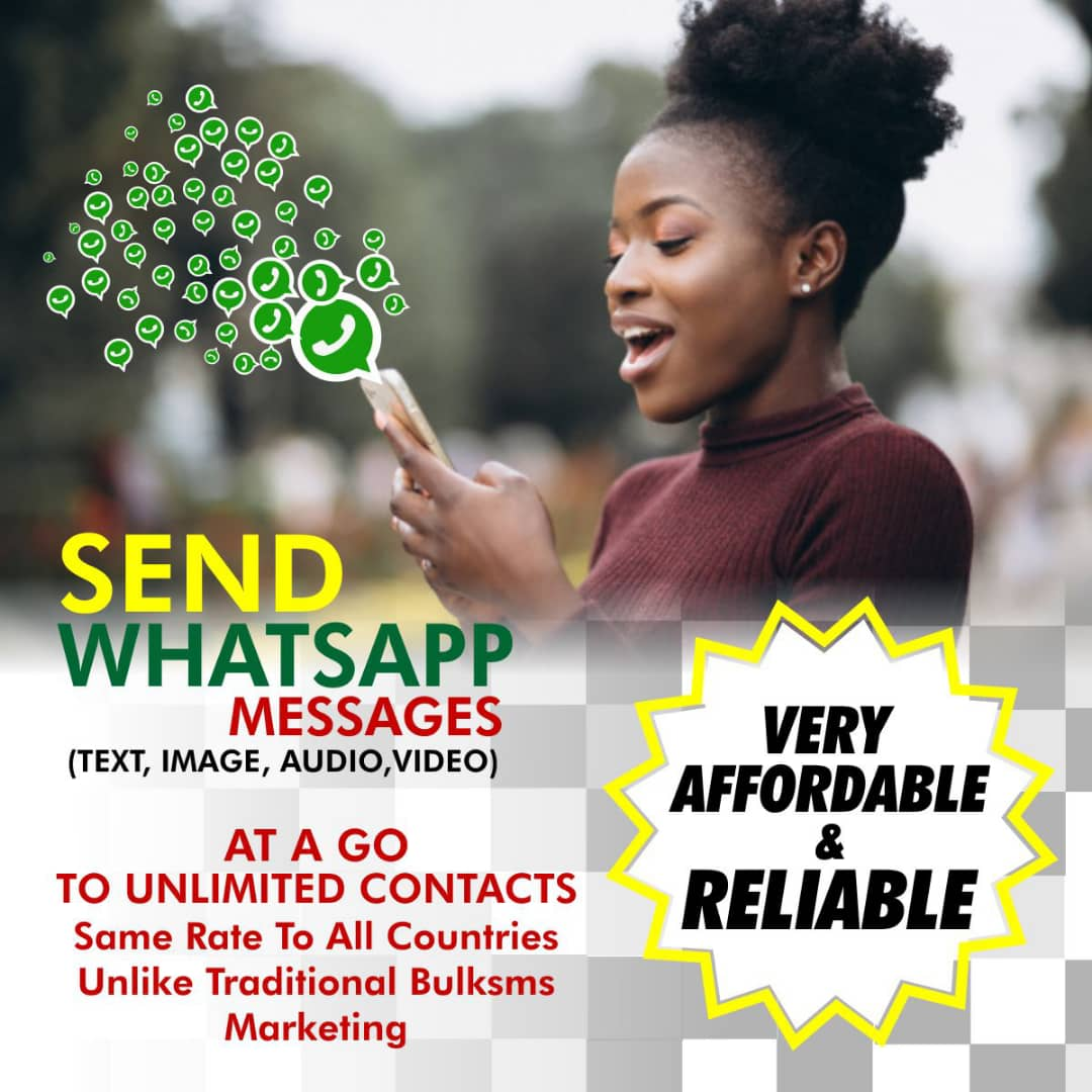 Whatsapp bulk Marketing services in Nigeria